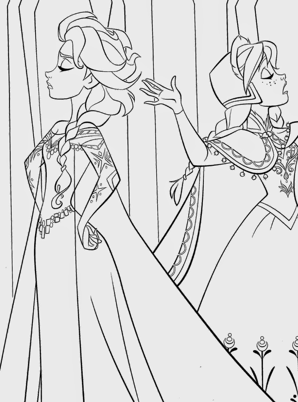 printable coloring pages frozen new frozen 2 coloring pages with elsa youloveitcom printable frozen pages coloring