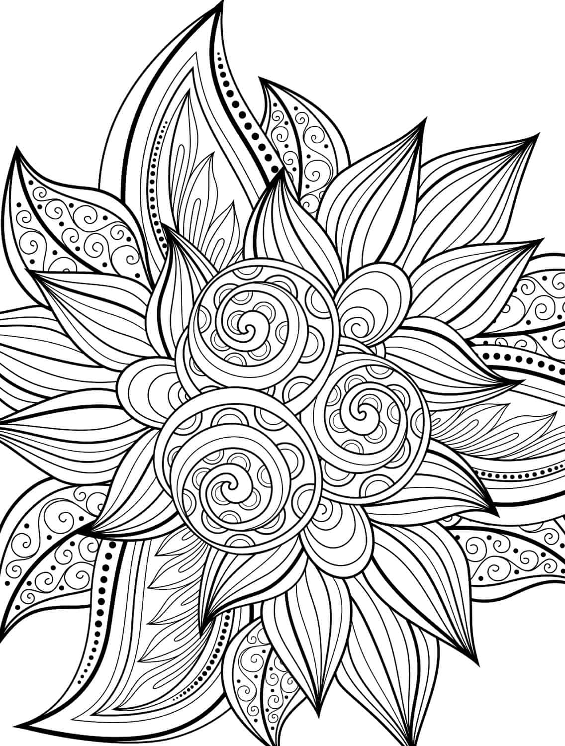 printable detailed coloring pages 10 free printable holiday adult coloring pages printable coloring pages detailed