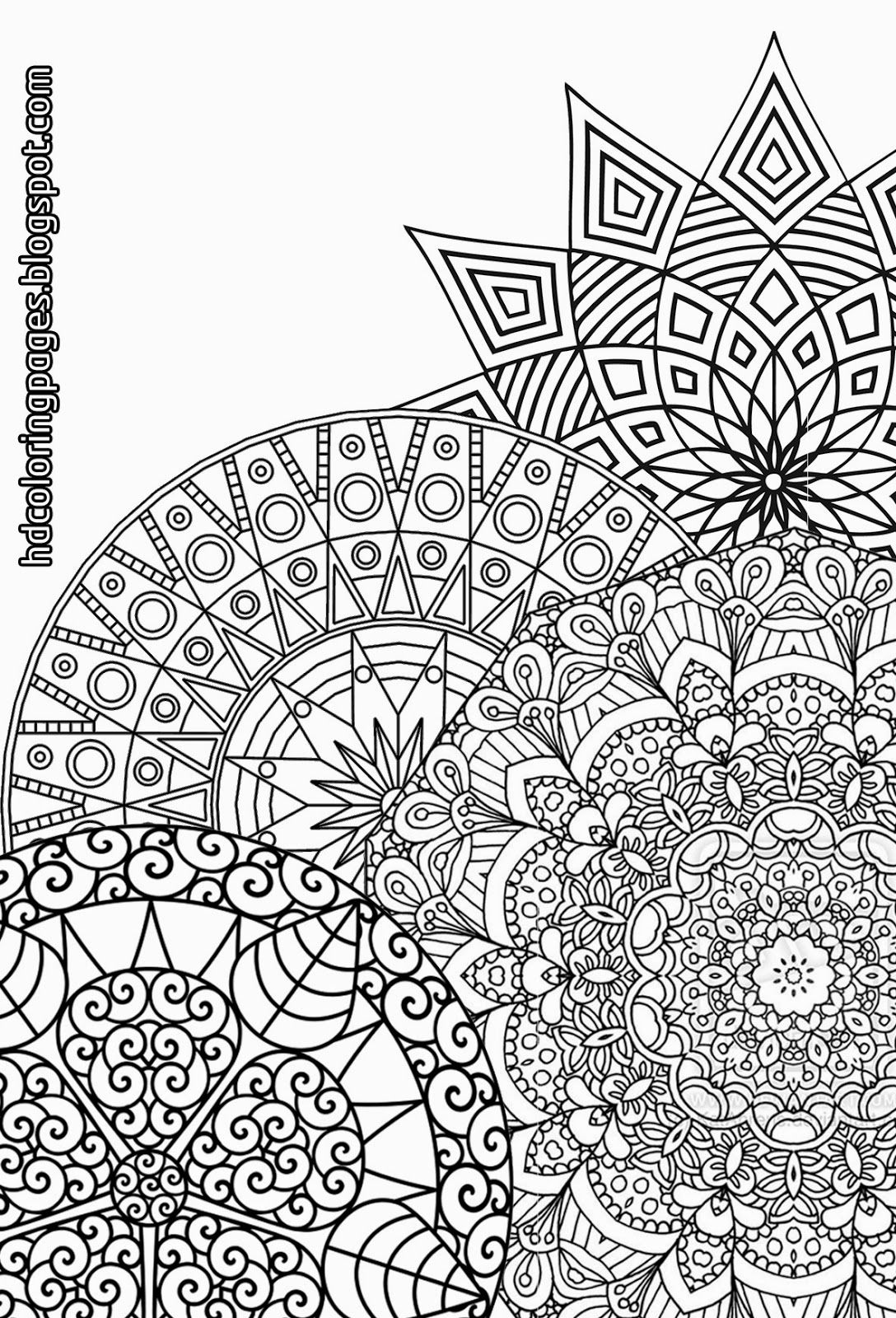 printable detailed coloring pages abstract coloring pages for adults coloring home coloring pages detailed printable