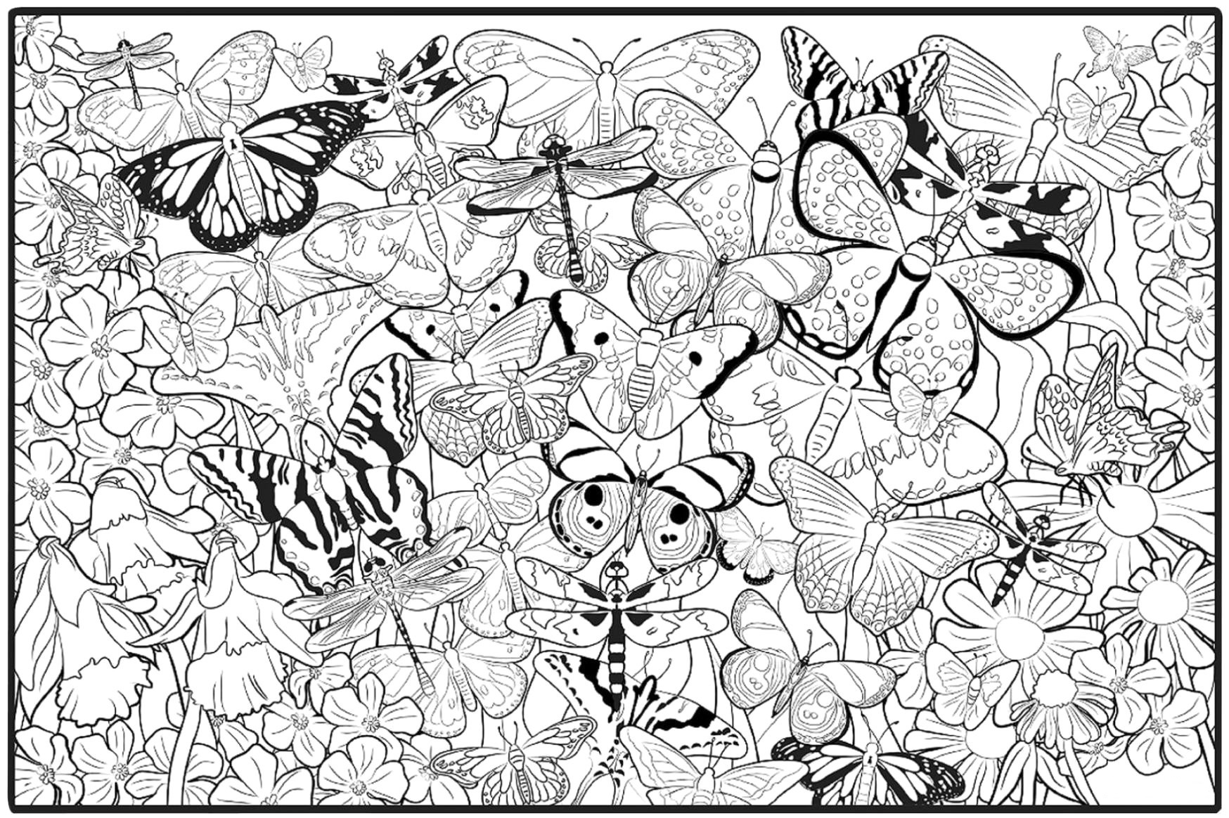 printable detailed coloring pages butterfly coloring pages for adults best coloring pages pages printable detailed coloring
