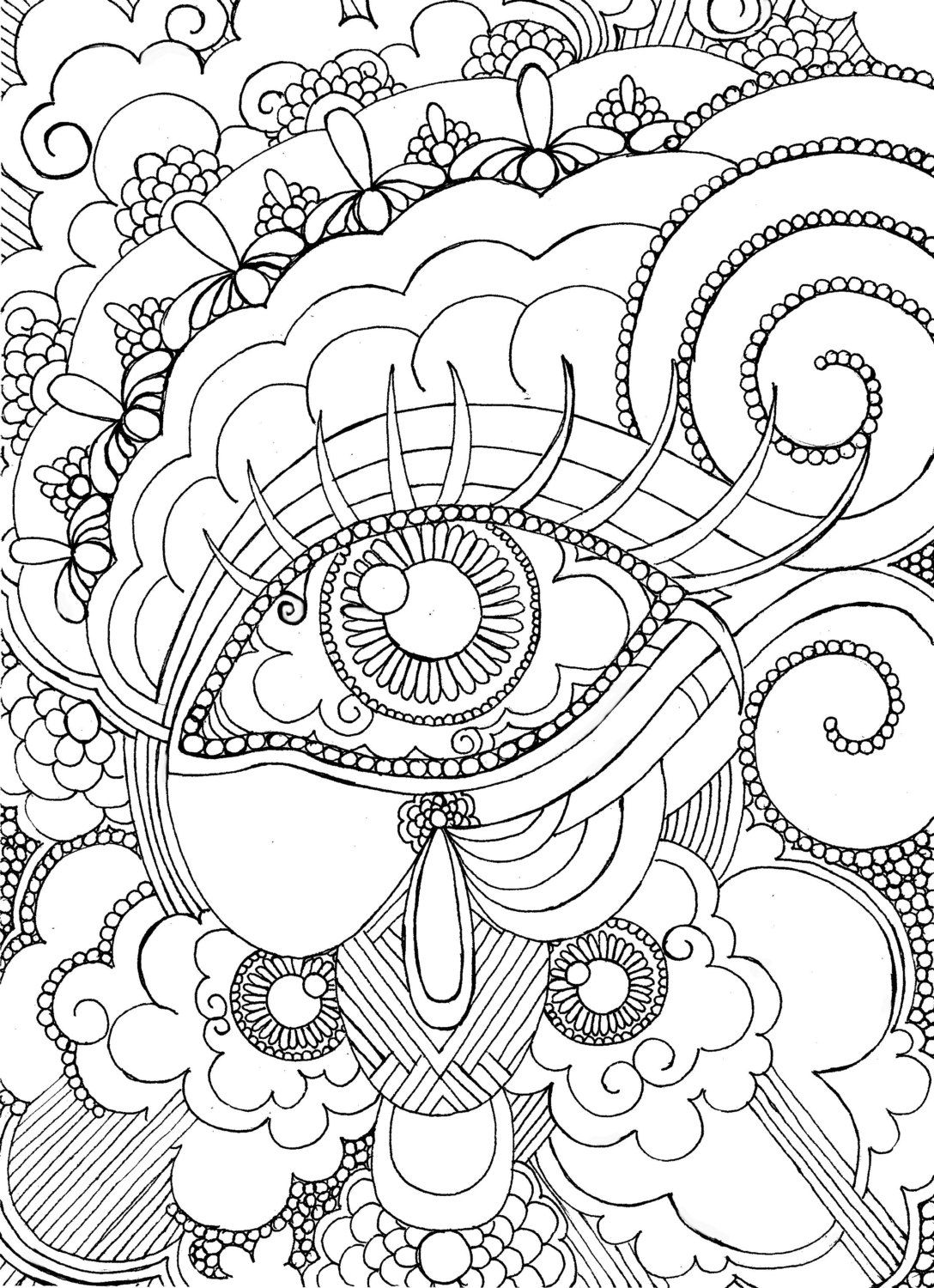 printable detailed coloring pages eye want to be colored adult coloring page by pages detailed coloring printable
