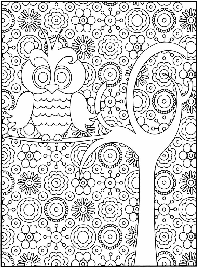 printable detailed coloring pages owl coloring pages for adults free detailed owl coloring pages printable detailed coloring