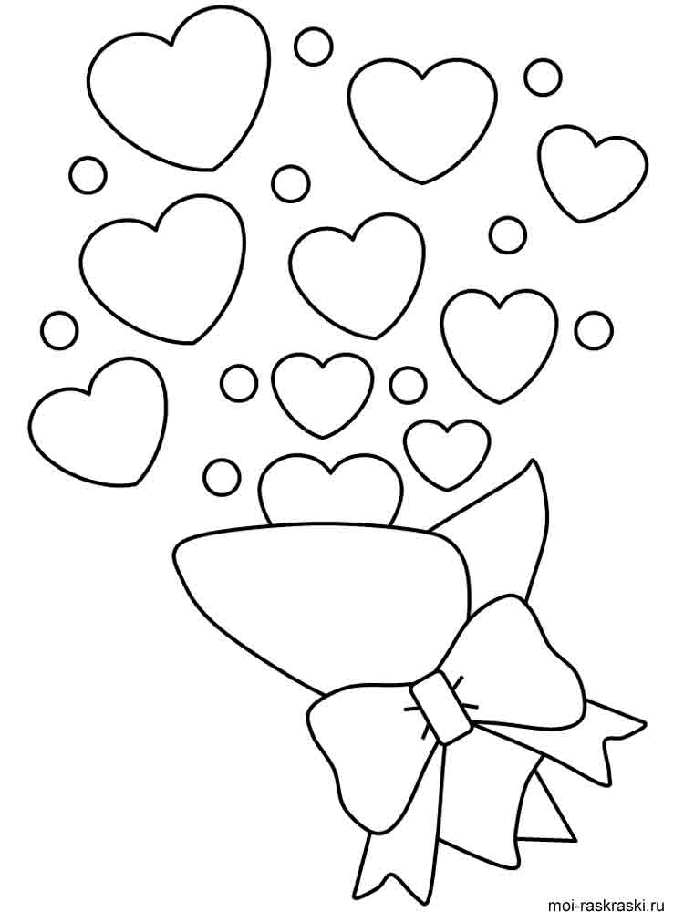 printable hearts coloring pages 6 best images of big hearts valentine printable coloring coloring pages hearts printable