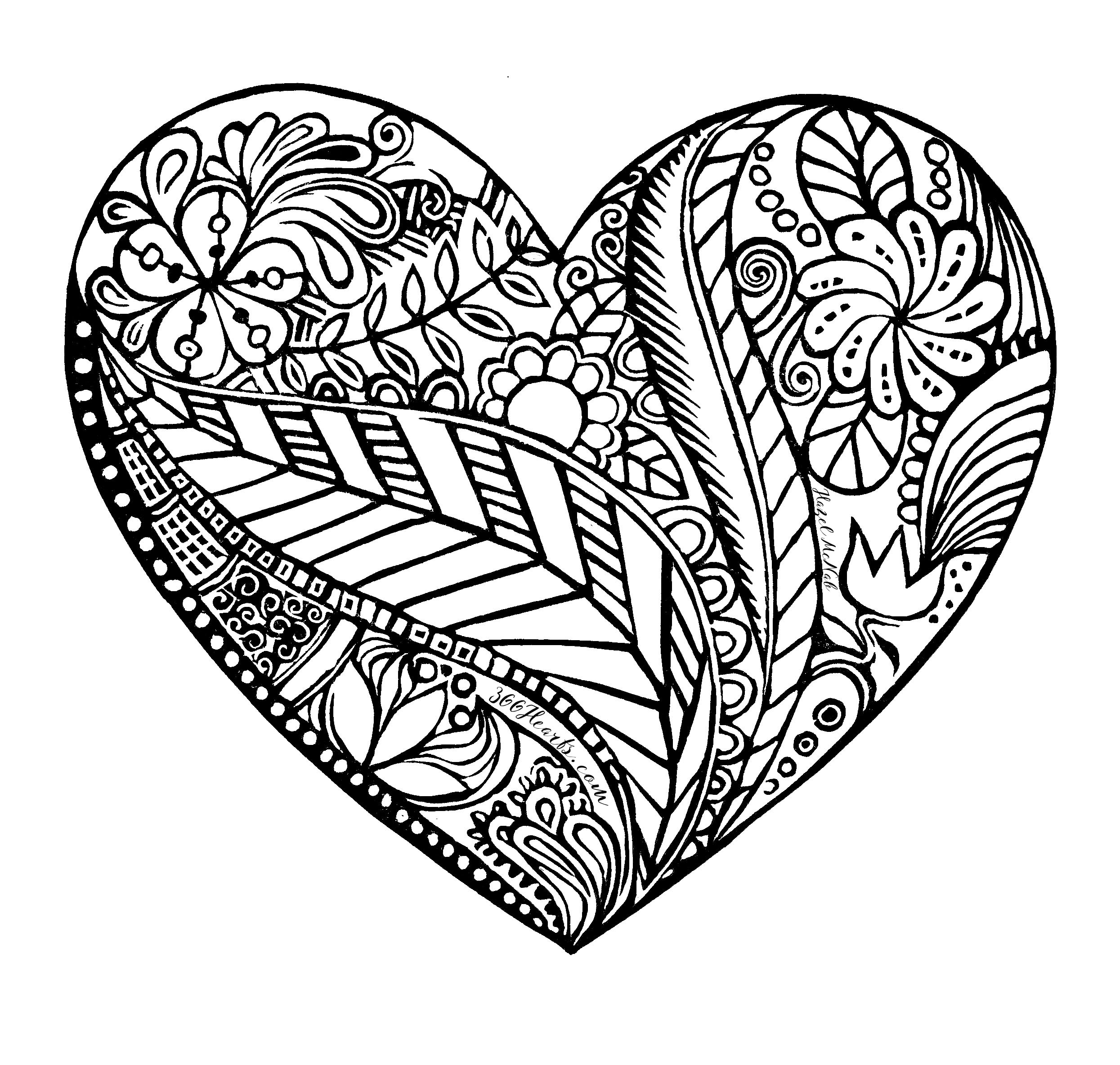 printable hearts coloring pages free printable heart coloring page ausdruckbare hearts pages printable coloring