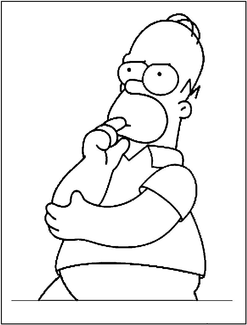 printable simpsons coloring pages the simpsons coloring pages download and print the pages printable coloring simpsons
