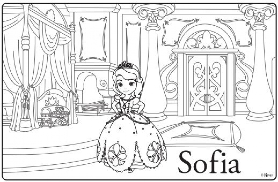 printable sofia the first coloring pages free coloring pages sofia the first coloring pages pages the sofia first coloring printable