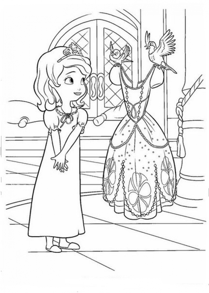 printable sofia the first coloring pages princess sofia coloring page free printable coloring pages coloring sofia the first printable pages