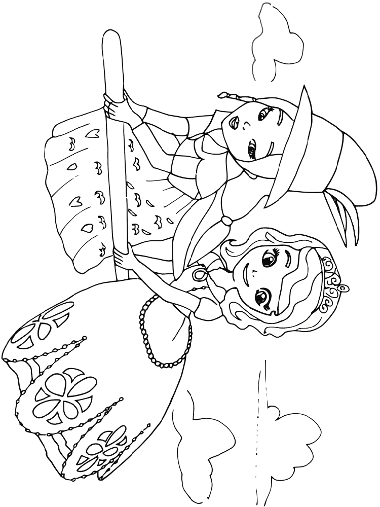 printable sofia the first coloring pages sofia the first drawing at getdrawings free download coloring first pages printable the sofia