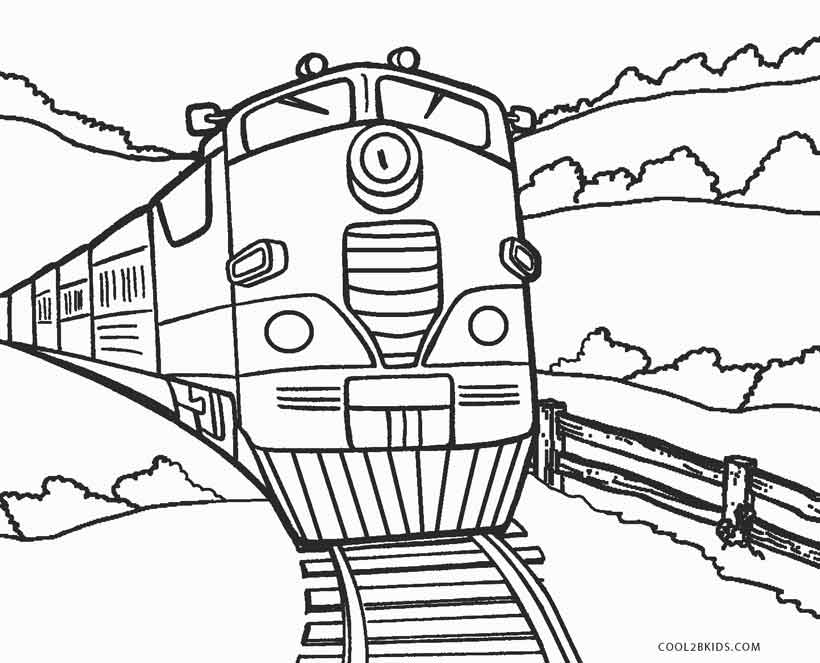 printable steam train coloring pages amazing steam train on railroad coloring page color luna printable steam pages coloring train