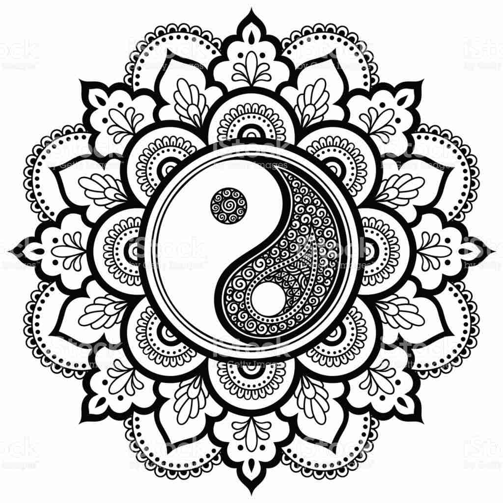 printable yin yang coloring pages yin yang coloring page by welshpixie on deviantart coloring printable yin yang pages