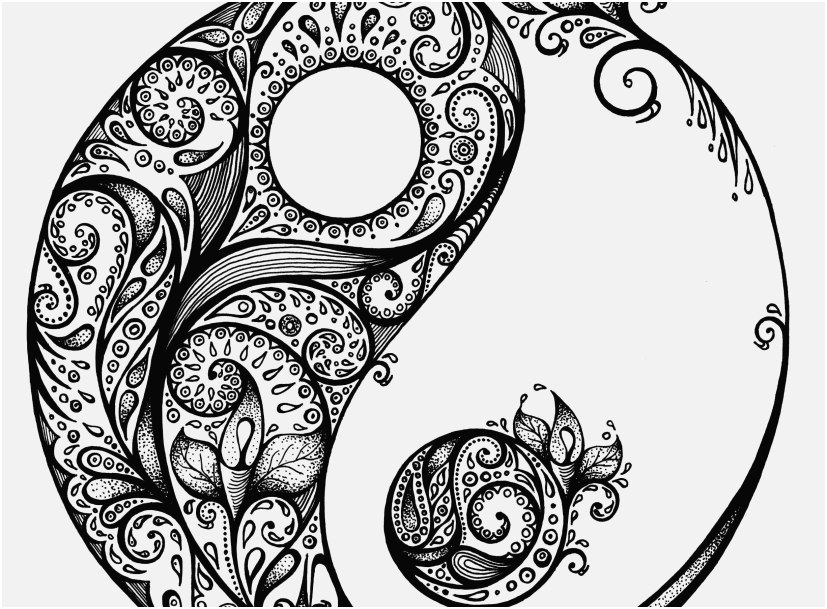 printable yin yang coloring pages yin yang coloring pages free download on clipartmag printable coloring yin yang pages