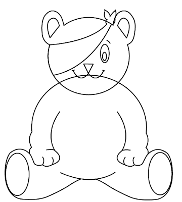 pudsey bear colouring great design creating pudsey bear in illustrator bear pudsey colouring
