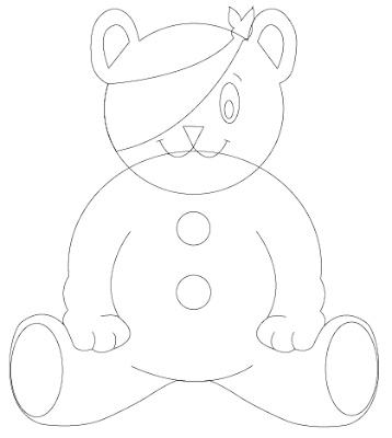 pudsey bear colouring great design creating pudsey bear in illustrator colouring pudsey bear