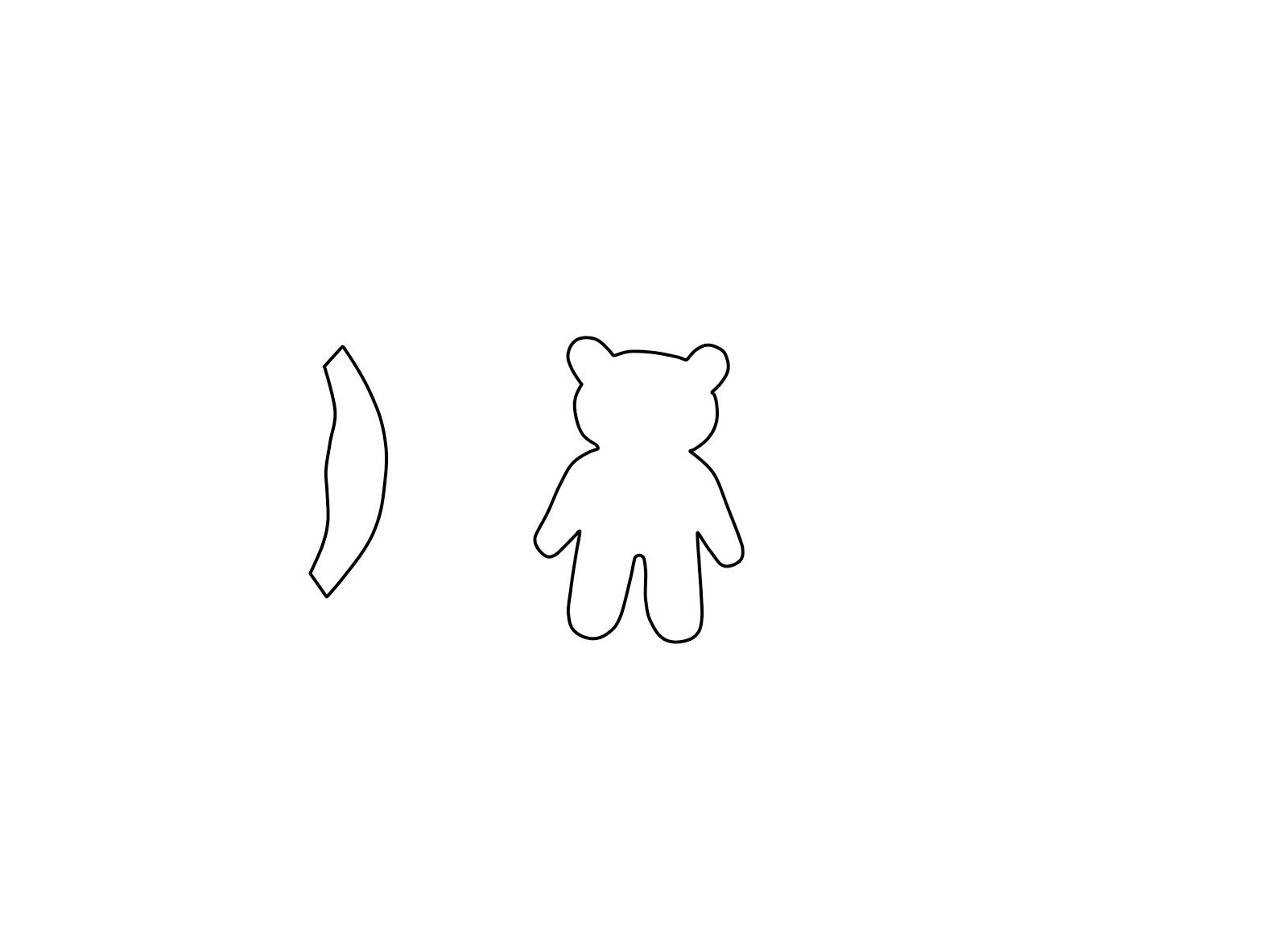 pudsey bear colouring plush by tammy pudsey bear template bear template pudsey colouring bear
