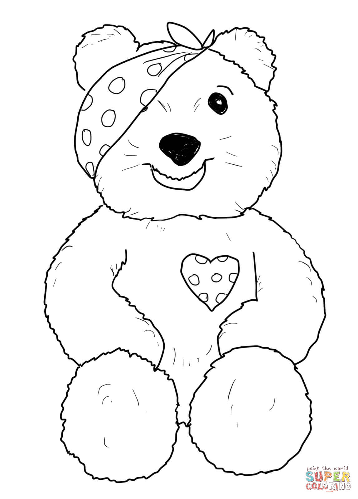 pudsey bear pictures to colour in children in need pudsey bear coloring pagetoby39s children pictures to bear in pudsey colour