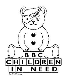pudsey bear pictures to colour in printable children in need pages 2 more homeschooling pudsey bear in colour to pictures