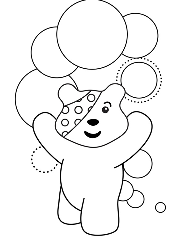 pudsey bear pictures to colour in pudsey bear colouring pages sketch coloring page colour bear in pictures pudsey to