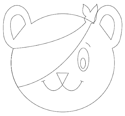 pudsey bear template printables children in need mascot coloring page free printable template printables pudsey bear