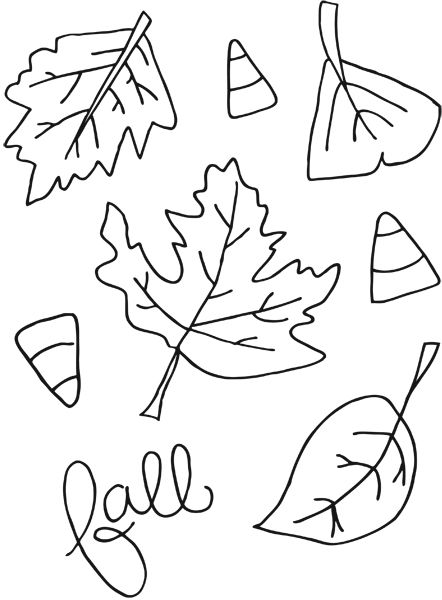 pumpkin and leaves coloring pages printable fall coloring pages coloring pumpkins and pages and coloring leaves pumpkin