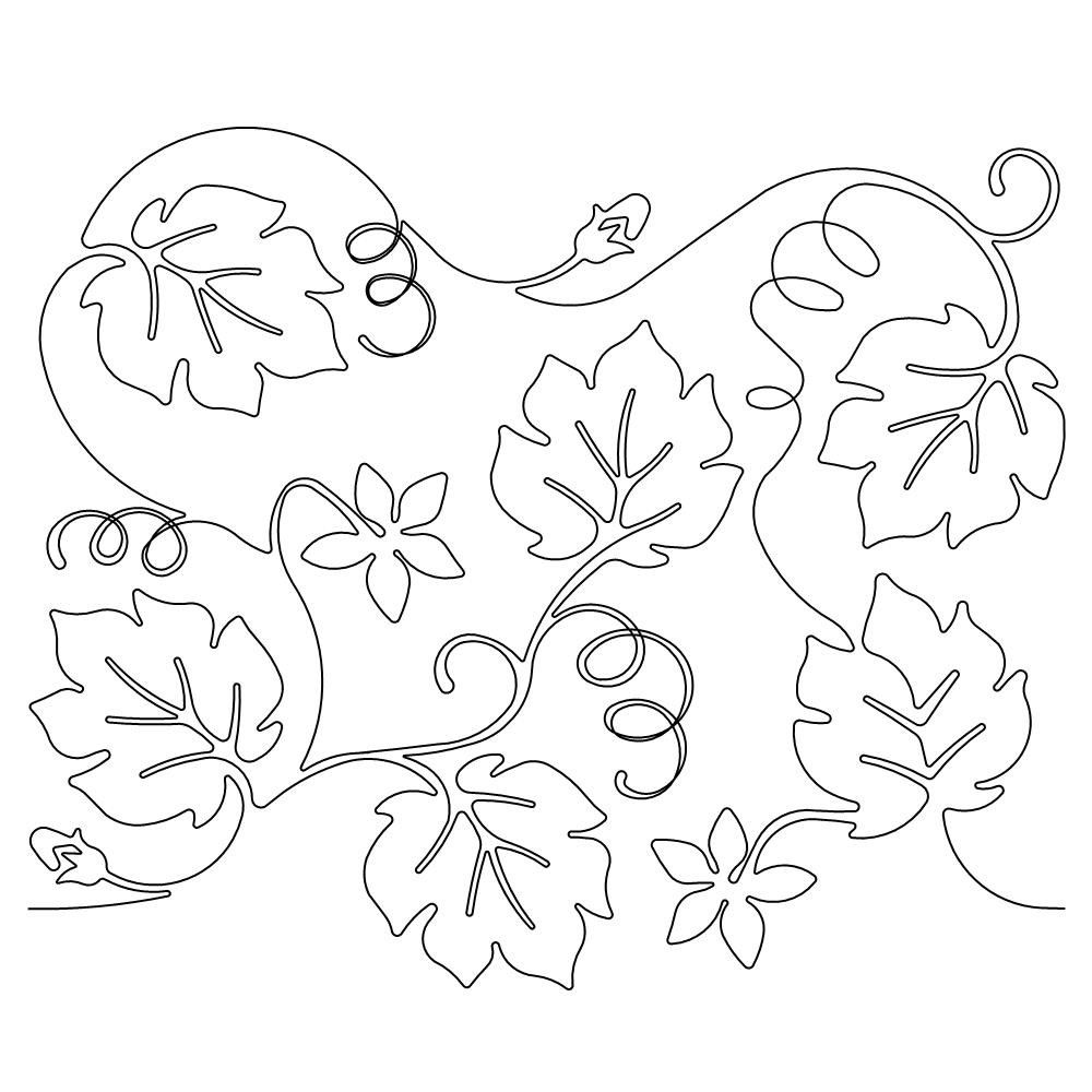 pumpkin and leaves coloring pages pumpkin vine coloring page at getcoloringscom free leaves pages pumpkin and coloring