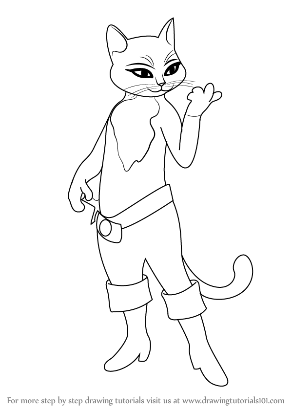 puss in boots drawing sketch puss in boots by radiance eternal on deviantart in puss boots drawing