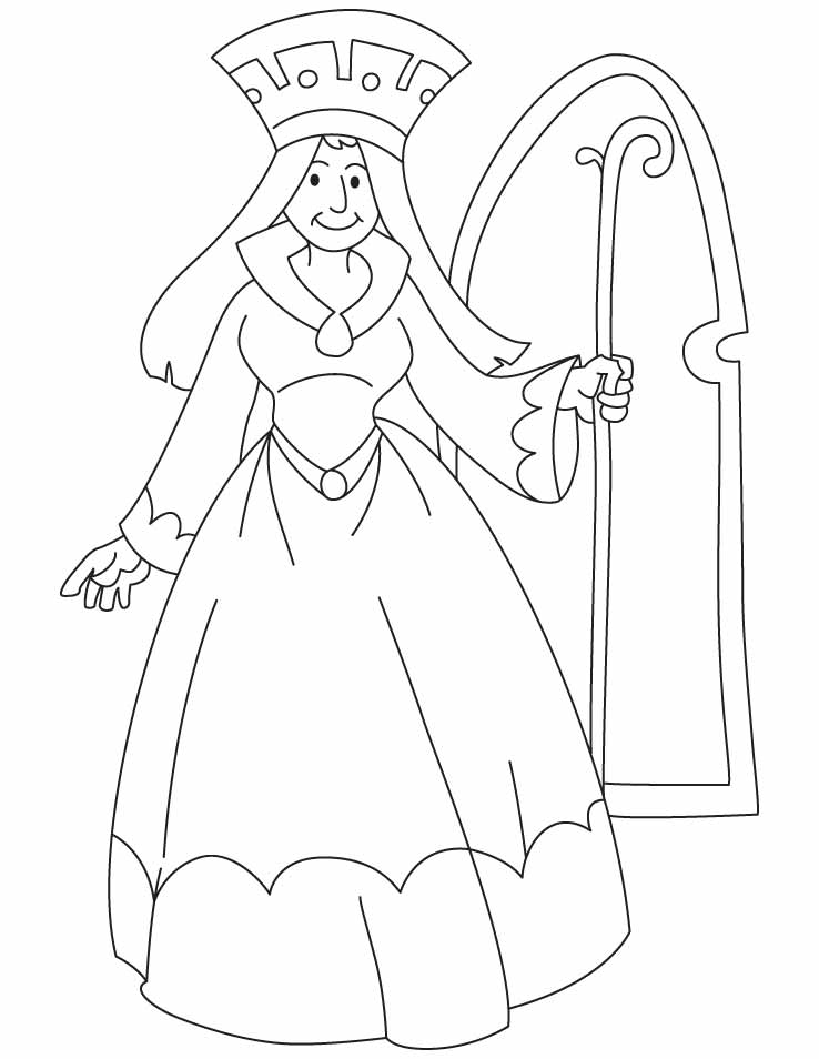 queen coloring pictures queen coloring pages download and print for free coloring queen pictures