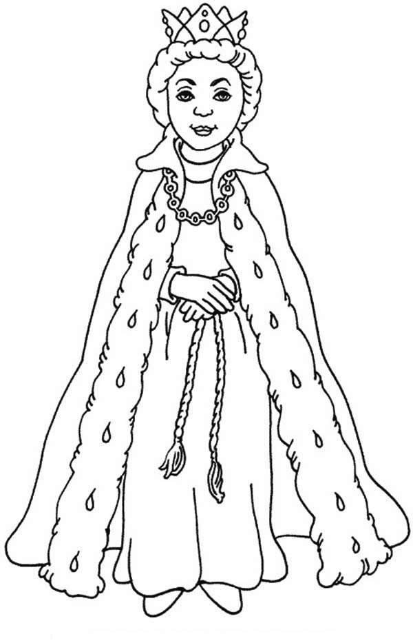 queen coloring pictures queen esther with her beautiful gown coloring page kids pictures queen coloring