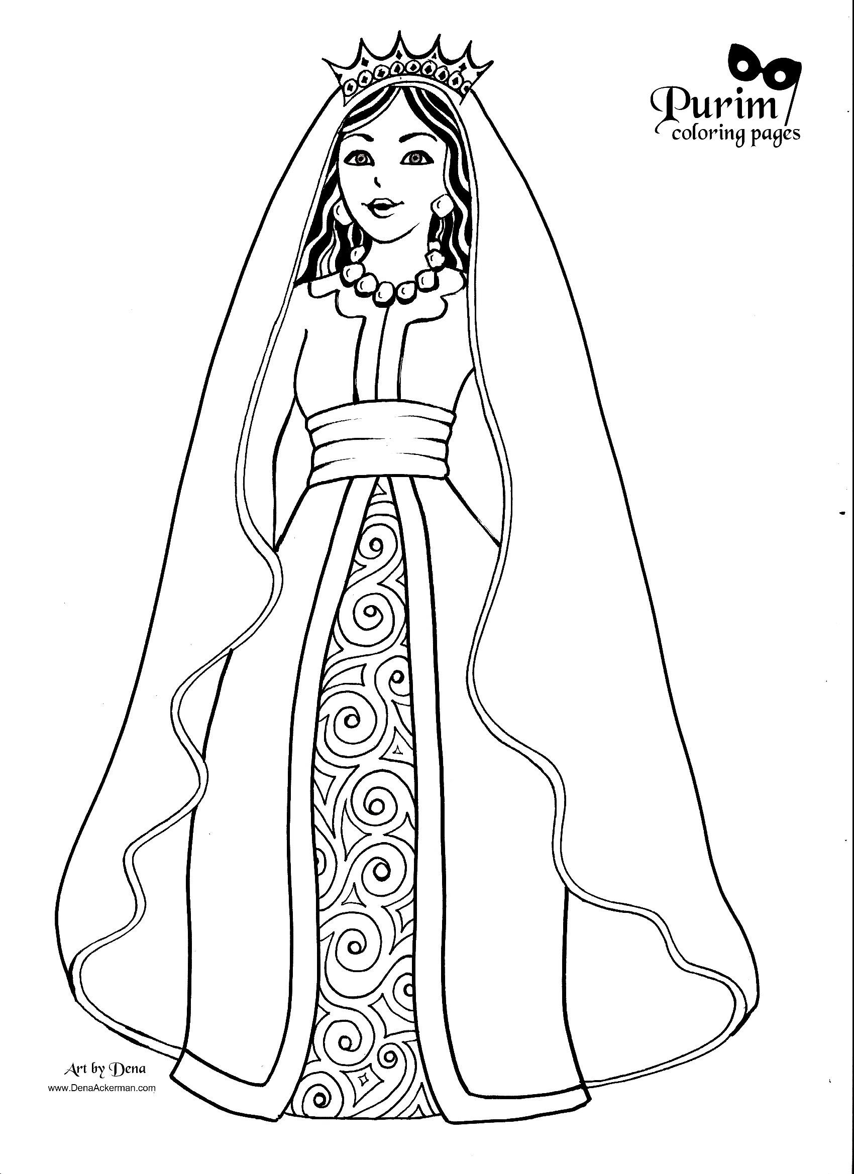 queen esther coloring page queen esther in the bible coloring pic bambinis page queen esther coloring