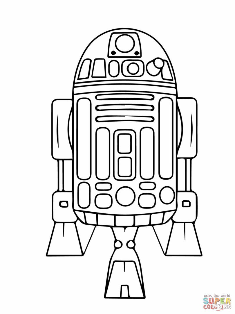 r2d2 coloring page free printable star wars the last jedi coloring pages coloring r2d2 page