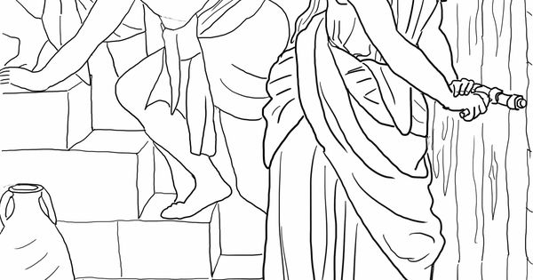 rahab coloring pages the promise to rahab coloring page pages coloring rahab