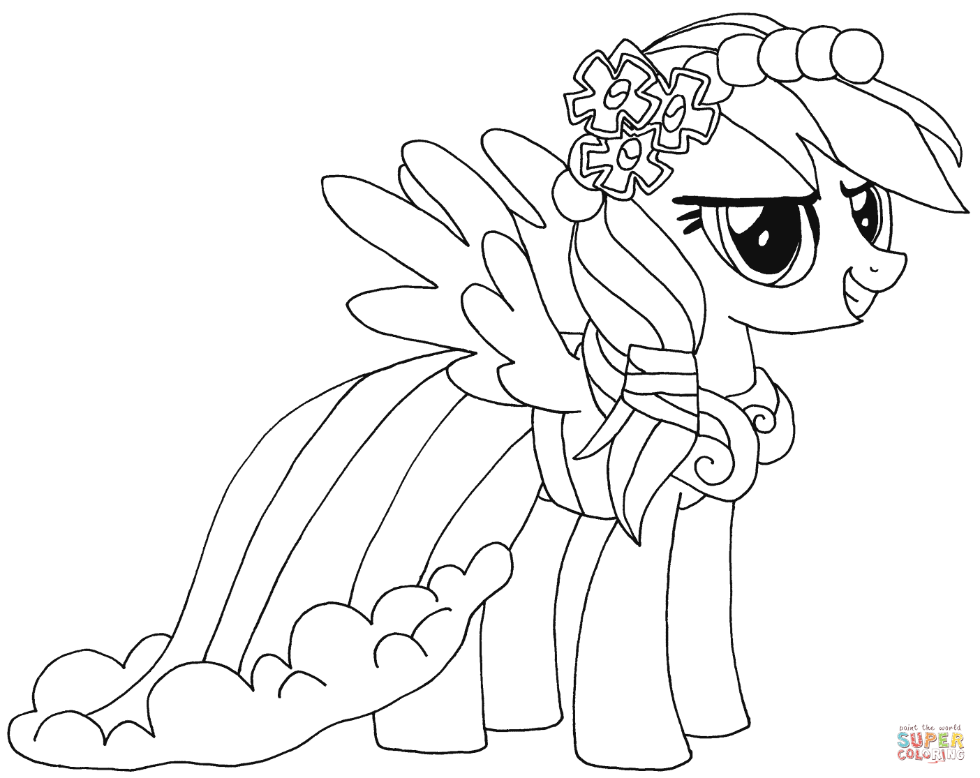 rainbow dash pictures to color ausmalbild rainbow dash ausmalbilder kostenlos zum pictures to rainbow dash color