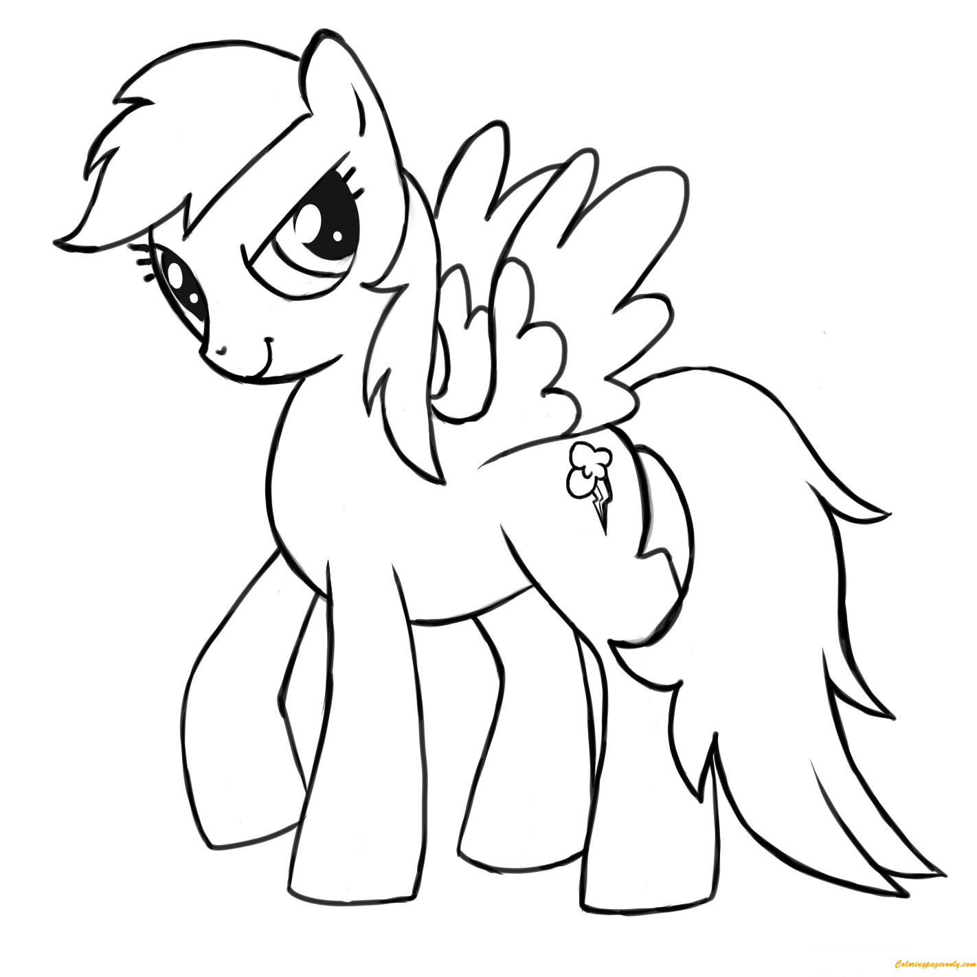 rainbow dash pictures to color magic rainbow dash coloring page free coloring pages online rainbow dash pictures color to