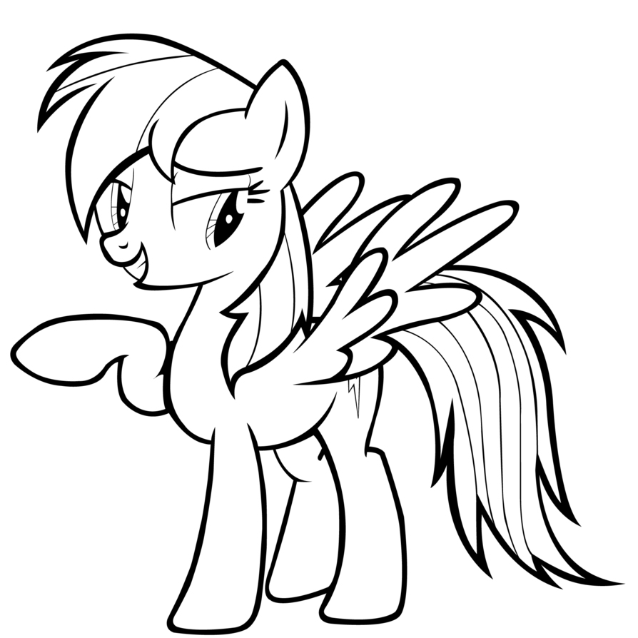 rainbow dash pictures to color rainbow dash lineart by ikillyou121 on deviantart rainbow pictures color to dash