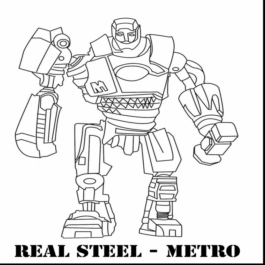 real coloring pages real steel coloring pages coloring pages coloring pages real 1 1