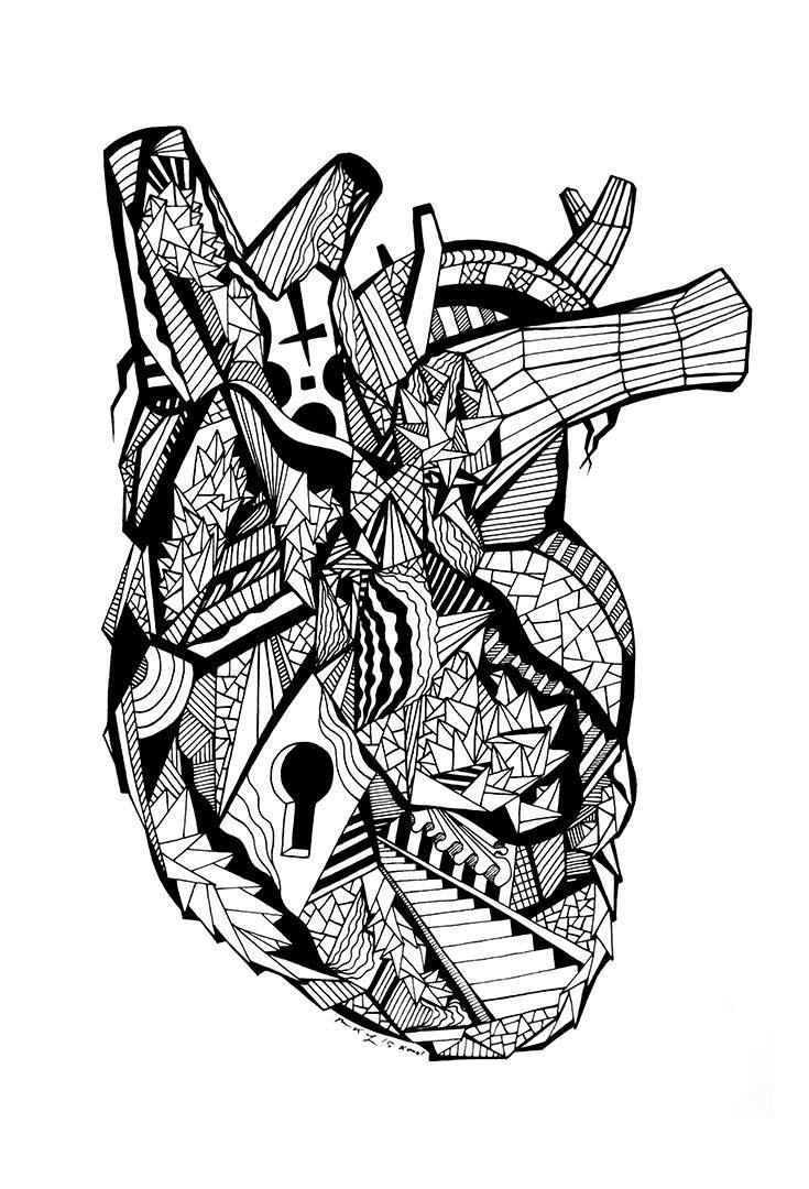 real heart coloring pages 1391 best artsy fartsy art images on pinterest canvas pages coloring heart real