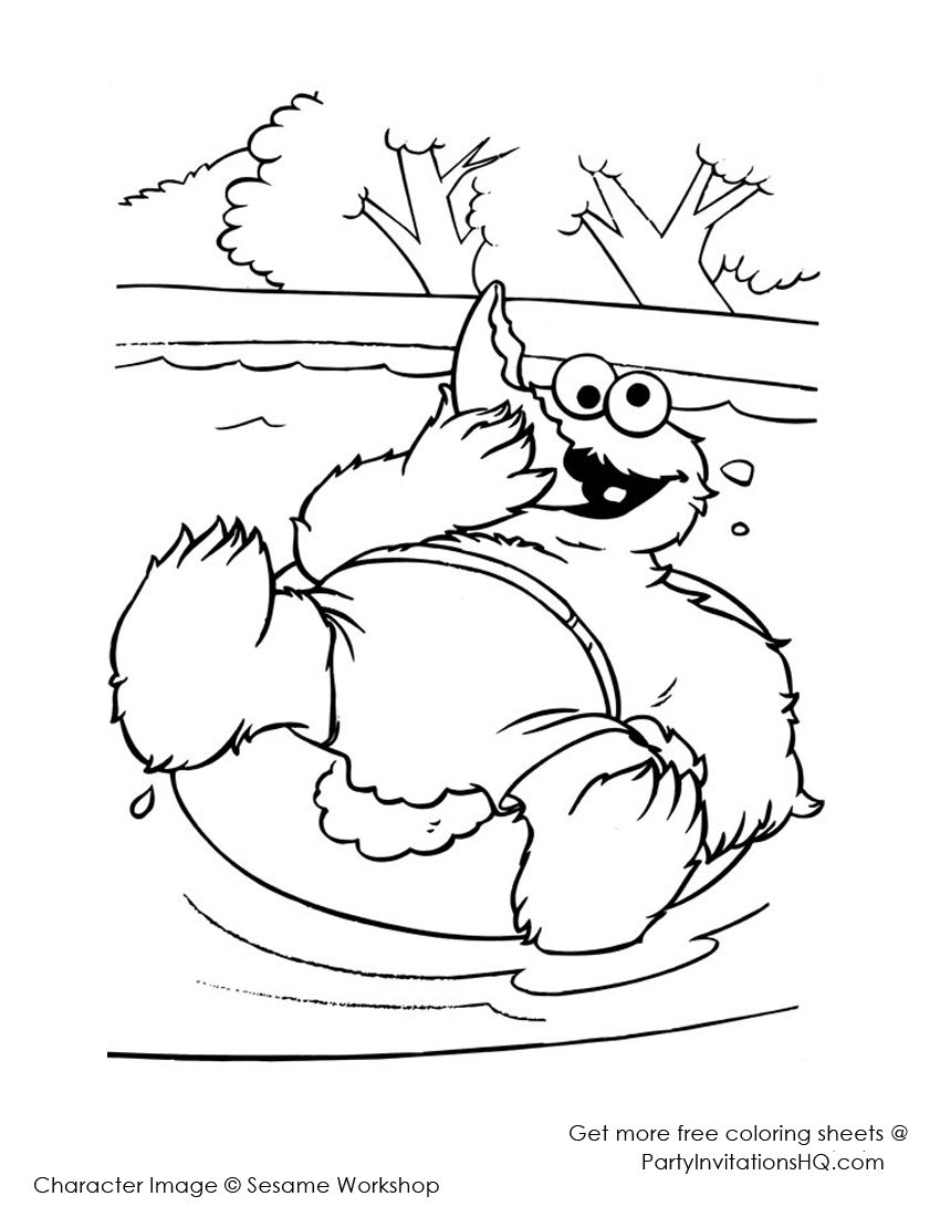 realistic monster coloring pages cookie monster coloring pages to download and print for free realistic monster coloring pages