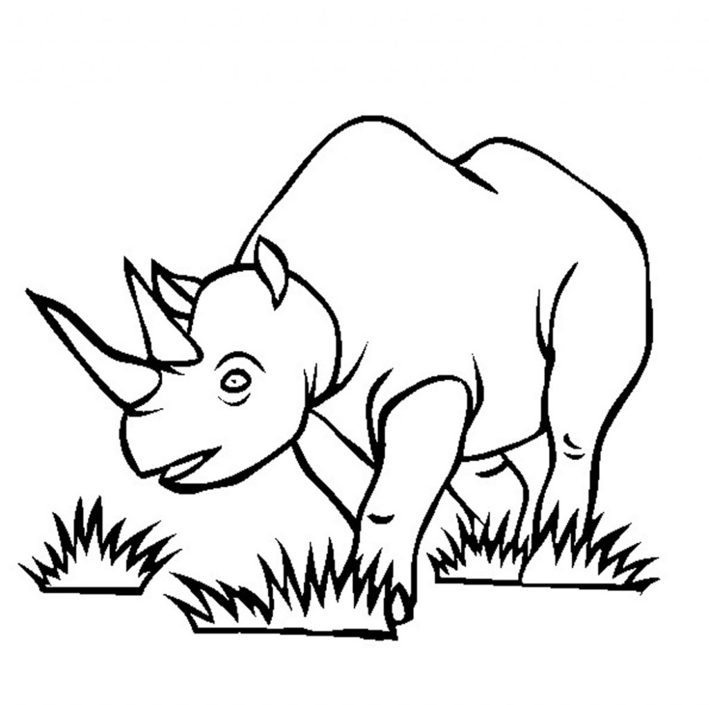 rhino coloring pages free printable rhinoceros coloring pages for kids coloring rhino pages