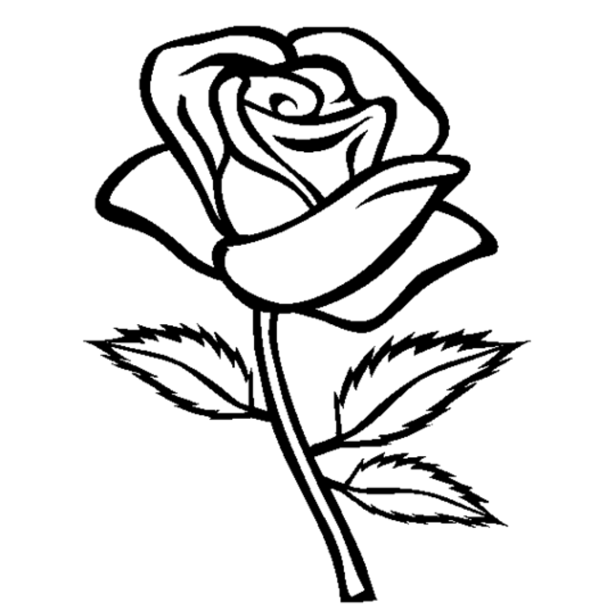 rose flower coloring pages coloring ville pages flower coloring rose