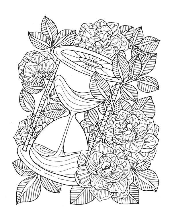 rose mandala coloring pages beautiful coloring page about nature with flowers color pages rose coloring mandala