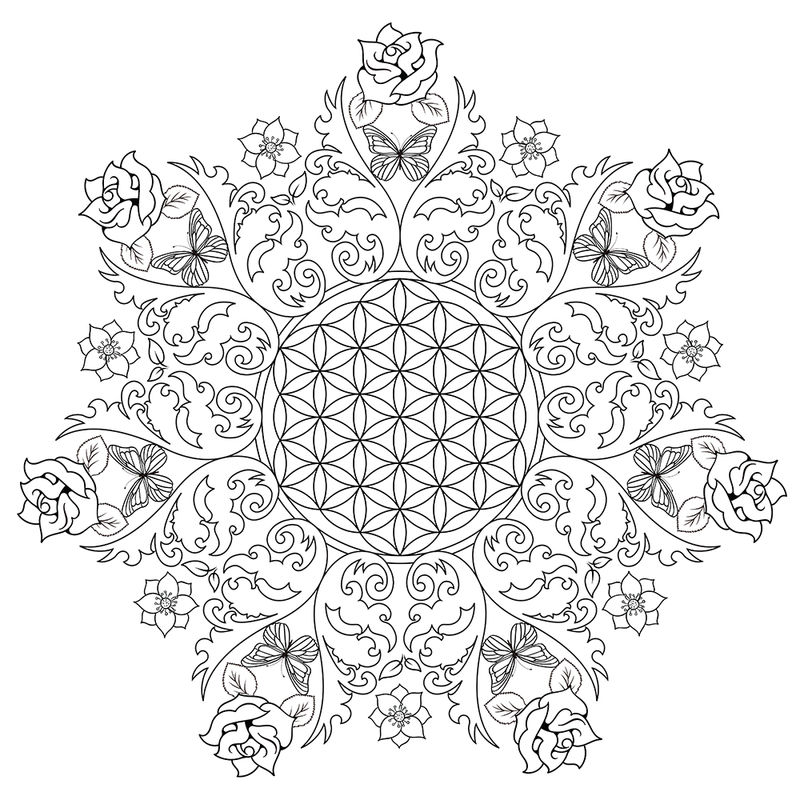 rose mandala coloring pages detailed rose drawing at getdrawings free download mandala coloring pages rose