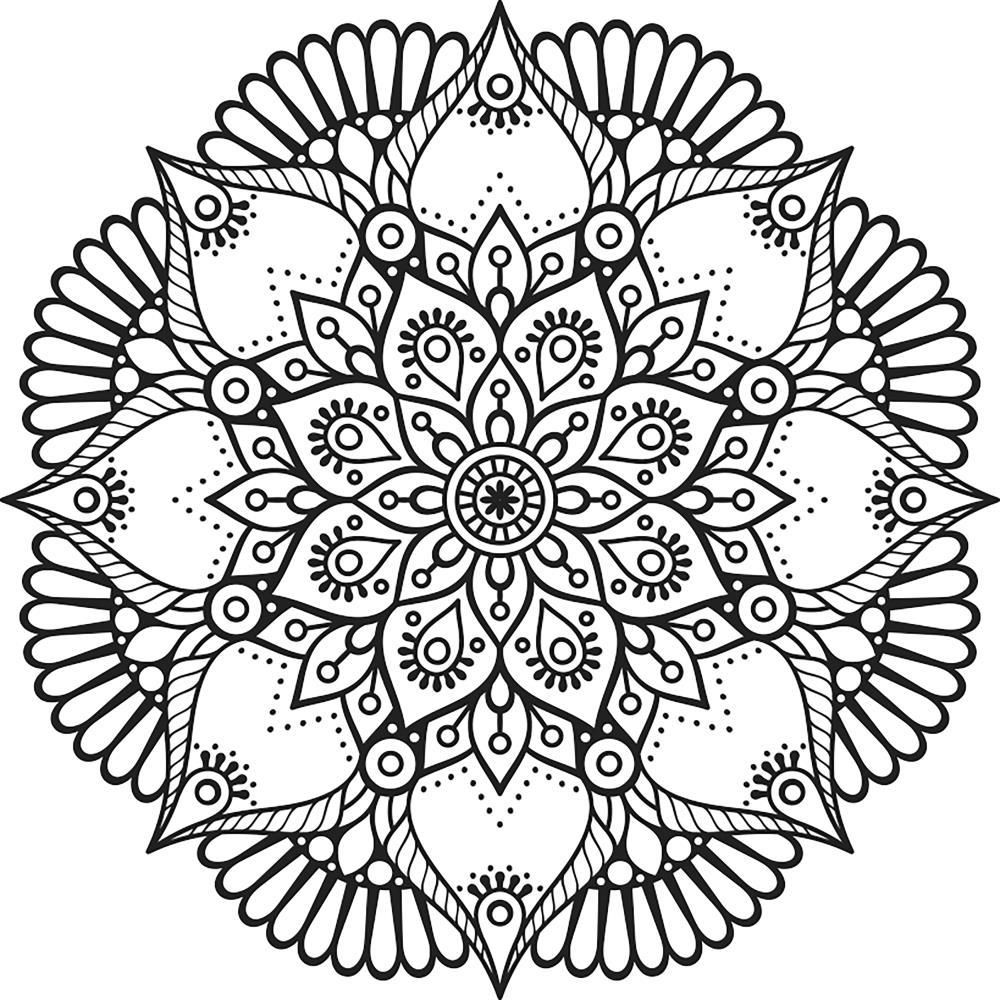 rose mandala coloring pages don39t eat the paste rose and pearls mandala coloring pages mandala rose