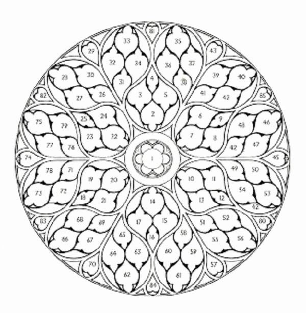 rose mandala coloring pages rose mandala coloring pages Раскраски мандала Рисунки rose coloring mandala pages