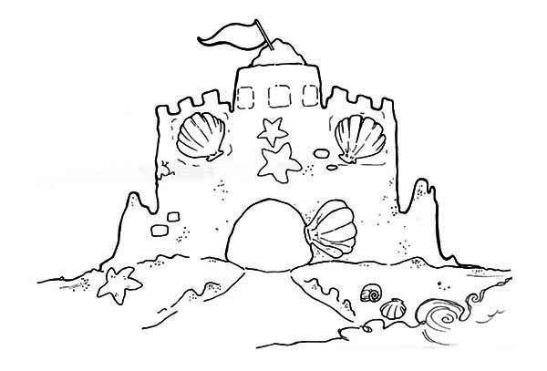 sand castle coloring download sandcastle coloring for free designlooter 2020 castle sand coloring
