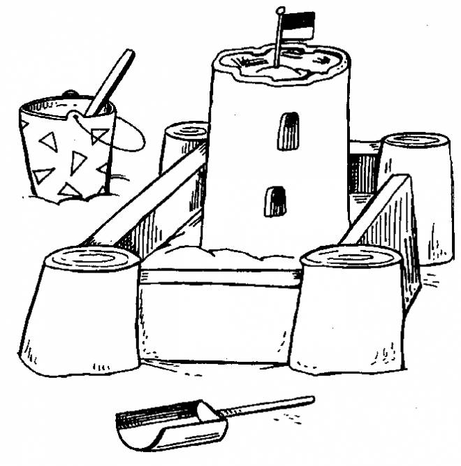 sand castle coloring sand castle coloring pages kids coloring pages free castle sand coloring