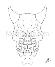 scary demon skull coloring pages evil skull coloring pages at getdrawings free download coloring skull pages demon scary