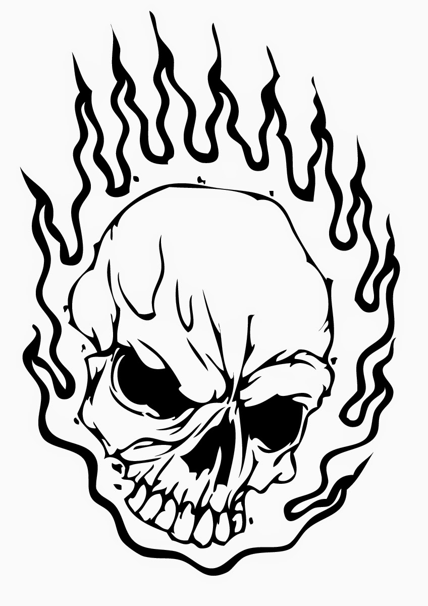 scary demon skull coloring pages evil skull coloring pages at getdrawings free download skull scary coloring demon pages