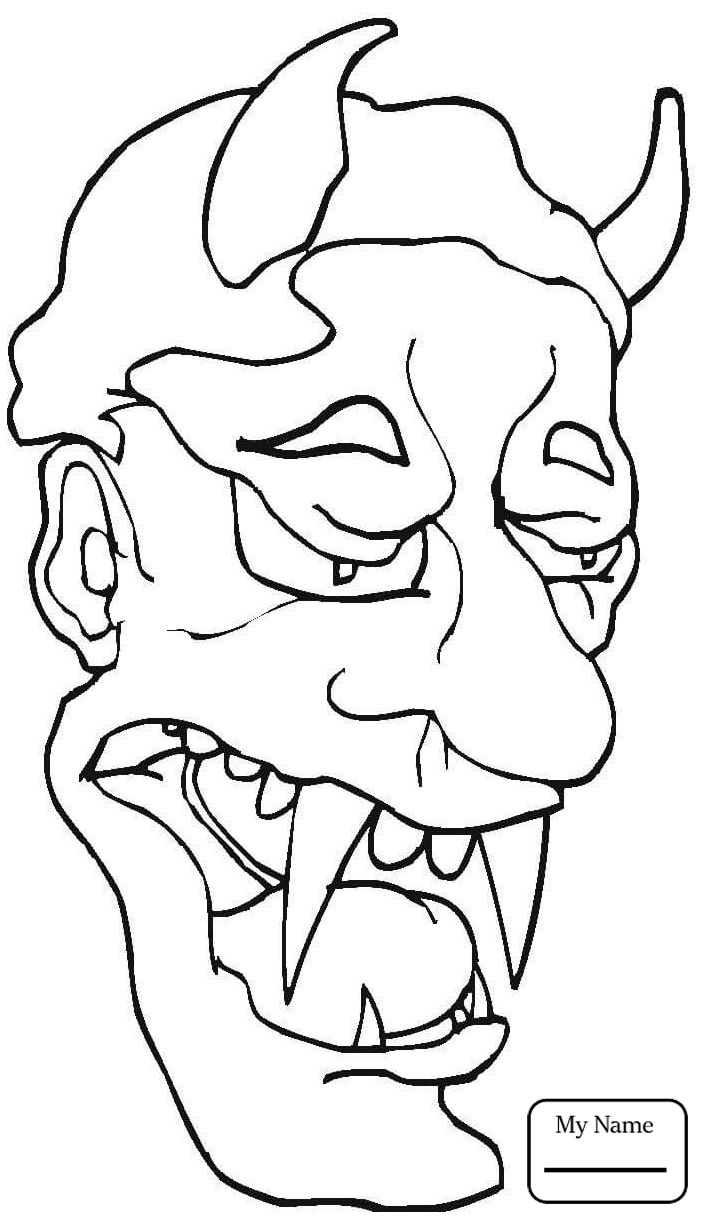 scary demon skull coloring pages scary demon skull coloring pages coloring pages coloring demon scary pages skull
