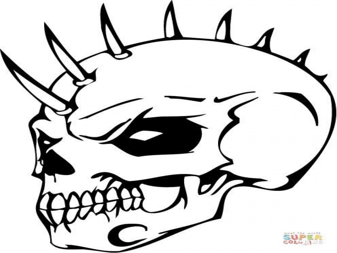 scary demon skull coloring pages scary demon skull coloring pages coloring pages skull scary pages coloring demon