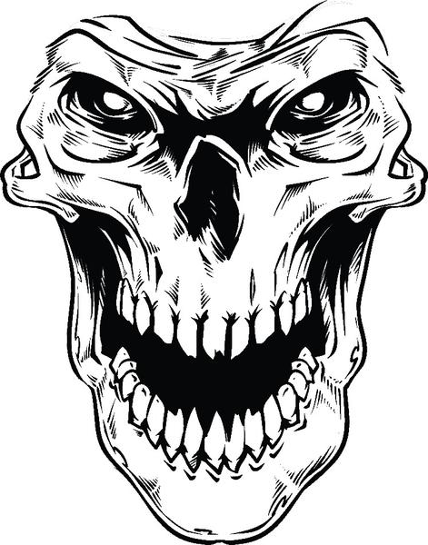 scary demon skull coloring pages scary zombie skull coloring page free printable coloring scary coloring pages skull demon