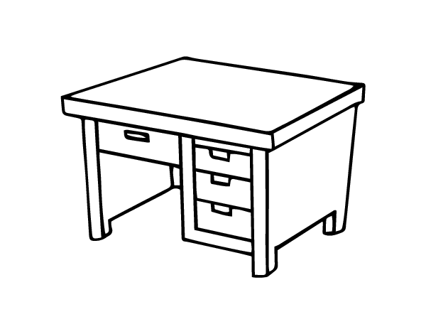 school desk coloring pages desk coloring pages coloring pages school desk